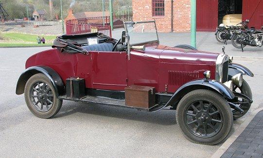 The 1927 Clyno Tourer ...