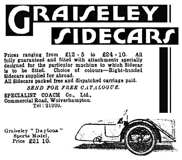 A J S  Sidecars
