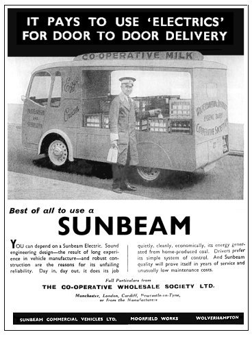 Sunbeam Vans And Lorries