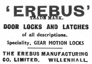 A Gazetteer Of Lock And Key Makers