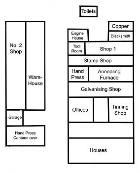 blacksmith workshop layout. note the small shop allocated to copper; and blacksmith\u0027s shop, presumably mainly for wrought iron parts. blacksmith workshop layout